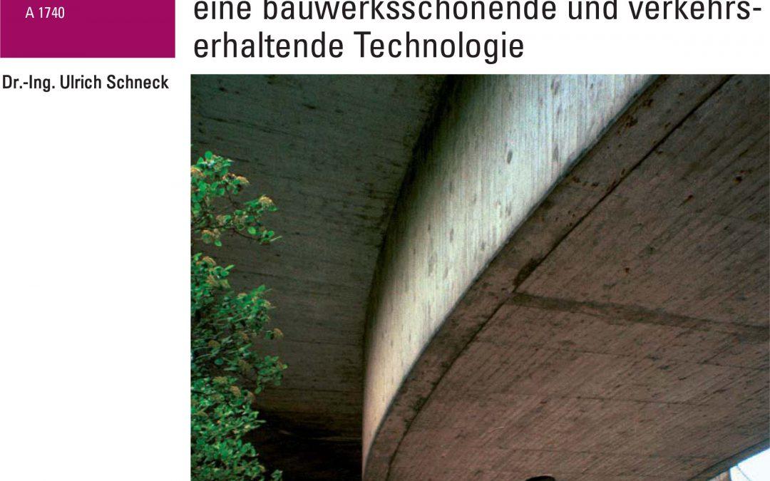Veröffentlichung zum elektrochemischen Chloridentzug in der Beton- und Stahlbetonbau Heft 3/2009 und Sonderdruck